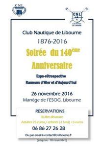 Anniversaire du Club Nautique de Libourne