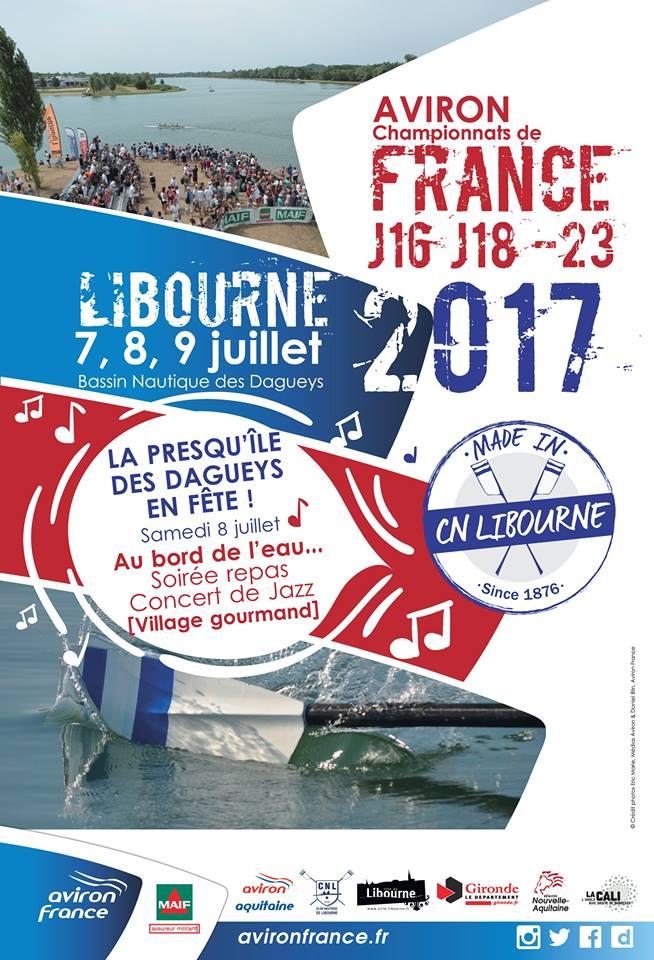 Programme des Championnats de France